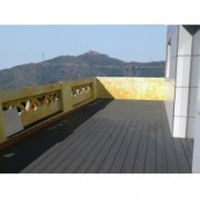 Tarima sintetica Timbertech Terrain color Silver Maple de 2440x136x25 mm. PARA EXTERIOR