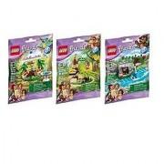 LEGO Friends Animal Set Series 5 Bundle set of 3 (41044 41045 and 41046)