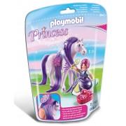 PLAYMOBIL - PRINTESA VIOLA CU CAL (PM6167)