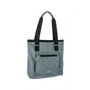 Nitro, Borsa a mano Donna Tote Bag, Grigio (Faded Black), 36 x 37 x 11 cm