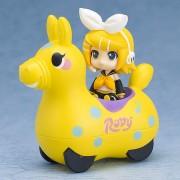 Hatsune Miku x CuteRody véhicule à friction avec figurine Kagamine Rin 7 cm