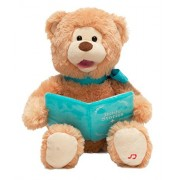 Cuddle Barn Animated Plush Bear Pray With Me Pals Bible Story Time