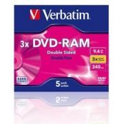 Verbatim - DVD-RAM 3x Double Sided