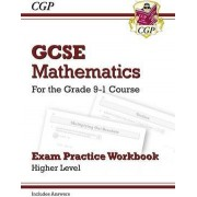 New GCSE Maths Exam Practice Workbook: Higher - For the Grade 9-1 Course (Includes Answers) by CGP Books