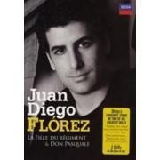 Juan Diego Flórez - Donizetti: La Fille Du Regiment / Don Pasquale (DVD)