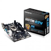 Gigabyte H81M-D2V Intel Socket 1150 Micro ATX Motherboard