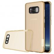 Capa TPU Nillkin Nature 0.6mm para Samsung Galaxy S8 - Dourado
