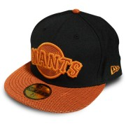Boné New Era San Francisco Black & Orange - 7 1/4 - M