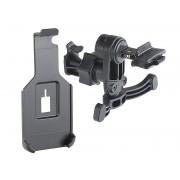Halterung zum Einhängen in Kfz-Lüftungsgitter für iPhone 5/5s/SE