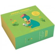 Animal Friends Deluxe Baby Book & Memory Box by Junzo Terada