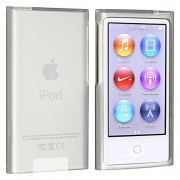 Everydaysource® compatible with Apple® iPod nano® 7th Generation Frost Clear White Soft TPU Case