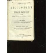 Johnson's Dictionary Of The English Language