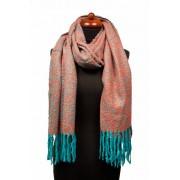 Sjaal met leuke franjes