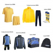 Set complet echipament sportiv Patrick Concept 008