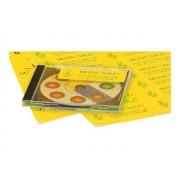 Avery Colour Copier Labels - Étiquettes En Papier Fluorescentes Autocollantes - Jaune Fluorescent - 70 X 35 Mm 2400 Étiquette(S) ( 100 Feuille(S) X 24 )