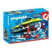 Playmobil Deep Submarine Sea with Underwater Motor