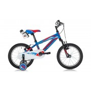 "Детски велосипед Ferrini RIDE 16"", BLUE, RED/WHITE"