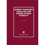 Energy Function Analysis for Power System Stability by M. A. Pai