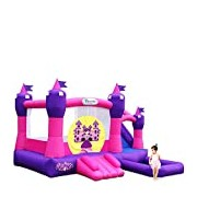 "Blast Zone UK-PRINCESSCOMBO ""Princess Combo"" Inflatable Bounce House with Water Slide and Ball Pit"