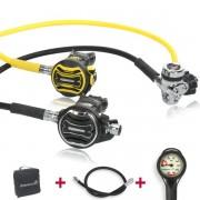 Apeks Atemregler XTX 200 XTX 40 Komfort Set -geprüft und montiert