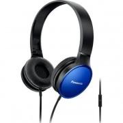 Casti cu banda si microfon Panasonic RP-HF300ME-A Albastru