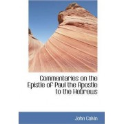 Commentaries on the Epistle of Paul the Apostle to the Hebrews by John Calvin