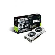 Asus nVidia DUAL-GTX1070-8G Scheda Grafica PCIe 3.0 da 8 GB, GDDR5X, 256bit, 1920 Cuda Cores, Nero