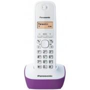 Telefon Fix Panasonic KX-TG1611FXF (Alb/Violet)