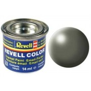 Revell 32362 RAL 6013 - Bote de pintura (14 ml), color gris satinado mate