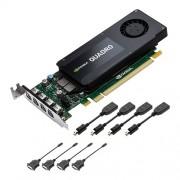 VC, PNY Quadro Kepler K1200, 4GB GDDR3, 128bit, Low Profile, PCI-E 2.0 (VCQK1200DVI-PB)