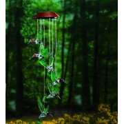 Color-Changing Hummingbird Solar Mobile