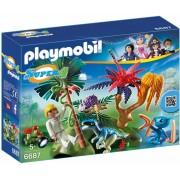 Playmobil 6687 Verlaten wereld met Alien en Raptor