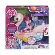 My Little Pony Ponei Pinkie Pie si setul Vaporul
