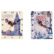 Reloj metálico Travel