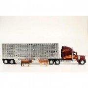 M&F Western Products Big Time Rodeo Peterbilt Livestock Hauler