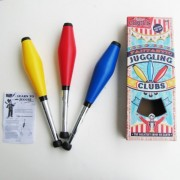 Circus Clown Juggling Clubs Set
