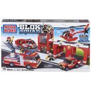 Mega Bloks Inter - Construccion Blok Squad Cuartel De Bomberos 57-2404