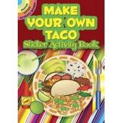Make Your Own Taco Sticker Activity Book by Ellen Christiansen Kraft