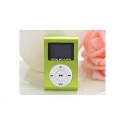 Mini Reproductor MP3 con Entrada USB Soporte Micro SD de hasta 32 GB-Verde