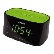 Sencor SRC180GN zöld rádiós ébresztő óra