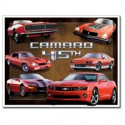 """""""Sign - Chevy Camaro 45th Red Cars"""""""
