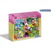 Clementoni puzzle cornice minnie 15 pezzi
