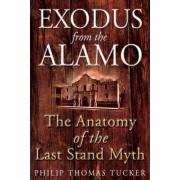 Exodus from the Alamo by Philip Thomas Tucker