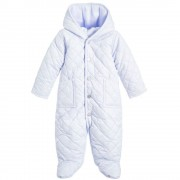 Ralph Lauren - Baby Barn Bunting Snowsuit, Light Blue