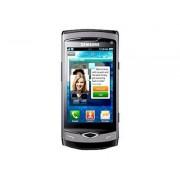 "Samsung GT-S8500 Wave - Smartphone - 3G - microSDHC slot - GSM - 3.3"" - 800 x 480 pixels - Super AMOLED - 5 MP - Bada OS - gris charbon"