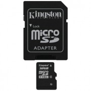 Kingston Micro-SDHC 32GB, Secure Digital Card Class 4