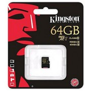Kingston microSDXC 64GB (Class 10) (SDCA10/64GBSP)