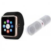 YSB GT08 Smart Watch And Bluetooth Speaker (Facebook Speaker) for ASUS ZENFONE 4
