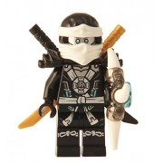 LEGO® Ninjago: Minifigure - Zane Deepstone with Armor and Aeroblade (70737)