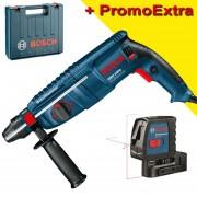 BOSCH GBH 2400 Ciocan rotopercutor SDS-plus 720 W, 2.5 J + GLL 2-15 Nivela laser cu linii (15 m)